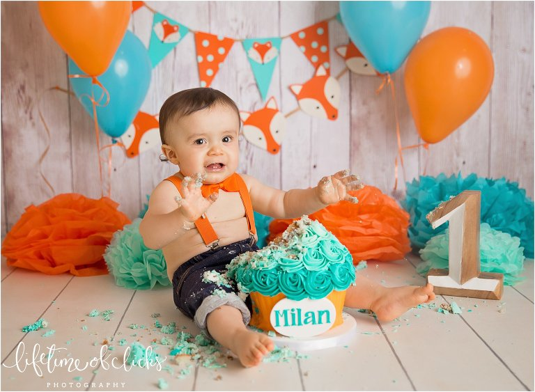 One Year Old Photo Session By Lifetime Of Clicks Photography