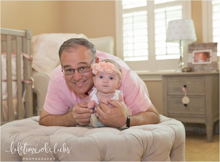 Fulshear TX Family Photographer | Photo of dad and daughter