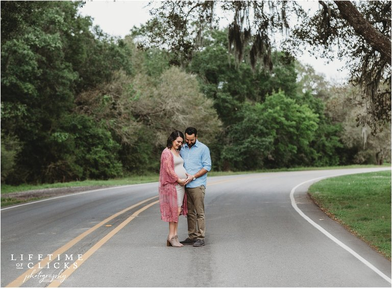 photo of couple on the road